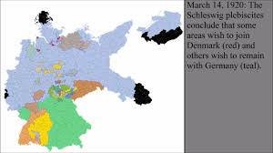 Cold War Germany Map by The Territorial Changes Of Germany After World War I Youtube