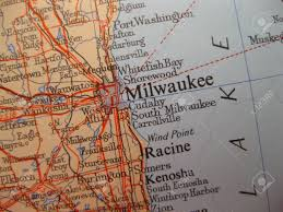 Milwaukee Wisconsin Map by Map Of Milwaukee Wisconsin Stock Photo Picture And Royalty Free