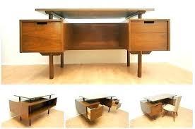 Mid Century Modern Office Desk Best Mid Century Desk Colour Story Design Mid Century Desks Image