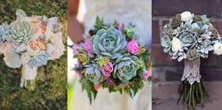 succulent bouquet hot wedding trend succulent bouquets essense designs
