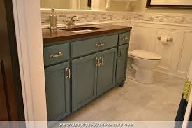 diy bathroom remodel before u0026 after