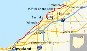 Cleveland State Map by Ohio State Route 283 Wikipedia
