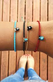 charm bracelet with evil eye images Evil eye charms pura vida bracelets pinteres jpg