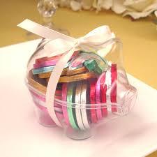 piggy bank party favors piggy bank clear favor boxes favor boxes favor packaging