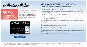 alaska airlines visa 50k miles offer matched from 25k application
