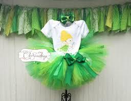 Green Tutu Halloween Costume Fairy Tutu Green Fairy Tutu Fairy Birthday Tutu Tink Fairy