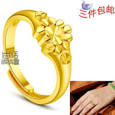 new gold rings images New shelves delicate models have high levels of imitation gold jpg