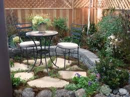 Concrete Backyard Ideas by Creative Small Flagstone Patios Pin It Like Image Art