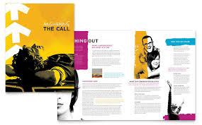 brochure design layout ideas church outreach ministries brochure