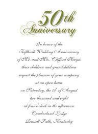 Wedding Announcement Templates 50th Wedding Anniversary Invitations