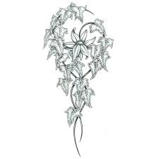 Flowers On Vines Tattoo Designs - 32 best jasmine flower vine tattoo images on pinterest flower