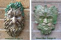 greenman garden wall plaques fairy door garden ornaments