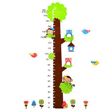 tree decoration 3d wall stickers kindergarten height