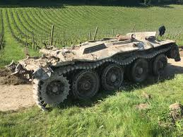 ww2 military vehicles extremely rare second world war tank has been dug up at denbies