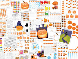 jack o lantern printable pack with more than 70 halloween