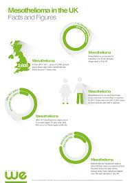 mesothelioma in the uk facts and figures visual ly