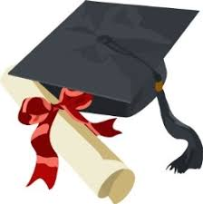 cap and gown for high school school cap and gown clipart