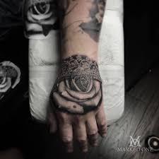 handtattoo realism realistic tattoos mark wosgerau amazing art