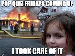 Meme Quiz - disaster girl meme imgflip