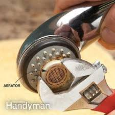 Aerator On A Faucet Slow Running Water Unclog The Aerator Family Handyman