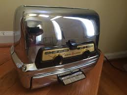 Art Deco Toaster Vtg Mcm 1950s Art Deco General Electric Ge Toaster Toaster Oven