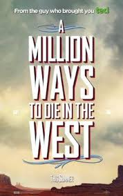 new u0027a million ways to die in the west u0027 poster vip fan auctions
