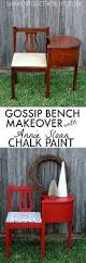 733 Best Chalky Finish Images by Gorgeous Gossip Bench Makeover With Annie Sloan Chalk Paint Love