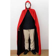phenovo halloween black hooded cape grim reaper robe cloak