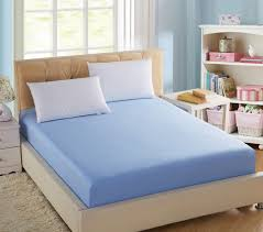 full size mattress pad soft plush fitted pillow top bed 100 cotton solid fitted bed sheet elastic mattress cover cushion