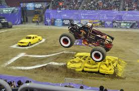 videos of monster trucks crashing crushing it with family fun at monster jam monsterjam surviving