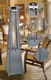 patio heater gas square pyramid patio heater