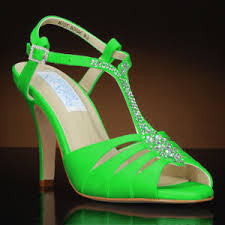 wedding shoes green lime green wedding shoes my glass slipper