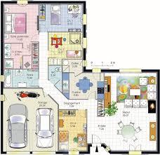 plan maison en l plain pied 4 chambres plans maisons tout pour vos constructions maison et dépendance