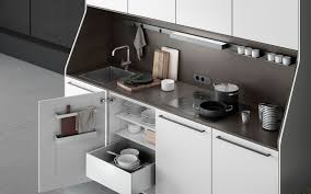 siematic 29 a solitaire among kitchen furniture siematic 29 freestanding kitchen furniture in lotus white with sink stovetop outlets and siematic