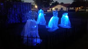 Halloween Yard Lighting Haunters Hangout