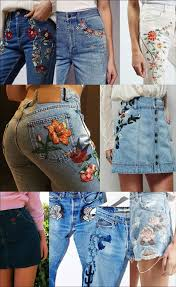 Flowers On - best 25 embroidery on ideas on patches for