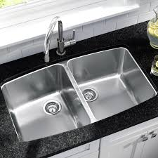 Kitchen Sinks Drop In Double Bowl by Amazing Kitchen Cabinet With Grey Granite Top Added Drop In