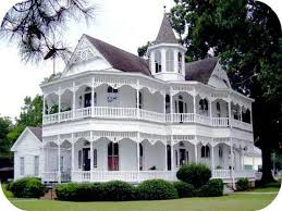 baby nursery victorian house with wrap around porch country
