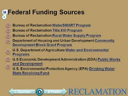 federal bureau of reclamation brought to you by bureau of reclamation ppt