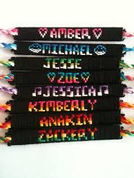 bracelet friendship name images Name friendship bracelets goo bracelet jpg