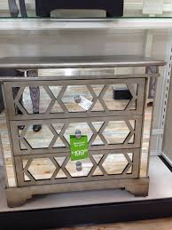 furniture mirrored chest with drawer and single door for home