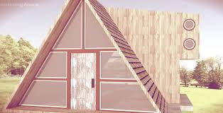 tiny house triangle wood cabin inspiration google sketchup
