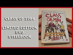 class of 1984 dvd class of 1984 limited embossed dvd steelbook unboxing