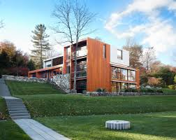 Mid Century Modern House Inside A Midcentury Gem In New Canaan By Architect Eliot Noyes