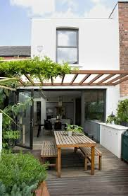 Terraced Patio Designs Covered Terrace 50 Ideas For Patio Roof Of Modern Houses