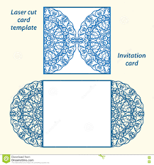 wedding invitation templates download lasercut vector wedding invitation template stock vector image