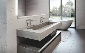 Bathroom Vanity With Tops by Custom Concrete Bathroom Sinks Trueform Concrete