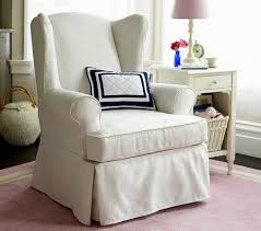 Duck Cotton Slipcovers Wingback Chair Covers 11 Home Decoration