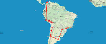 Map Of Colombia South America by South America On A Shoestring U2013 656 585 U20ac Itinerary From