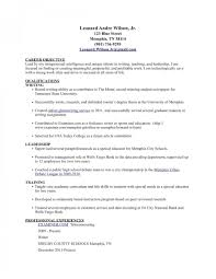 Standard Resume Templates The Standard Resume Format For A Winning Applicant Standard